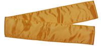 gold kung fu sash